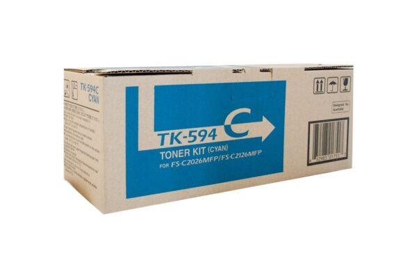 KYOCERA TK-594C TONER CYAN TK 594C