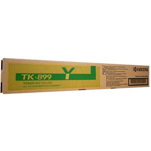 KYOCERA TK-899Y TONER YELLOW TK 899Y
