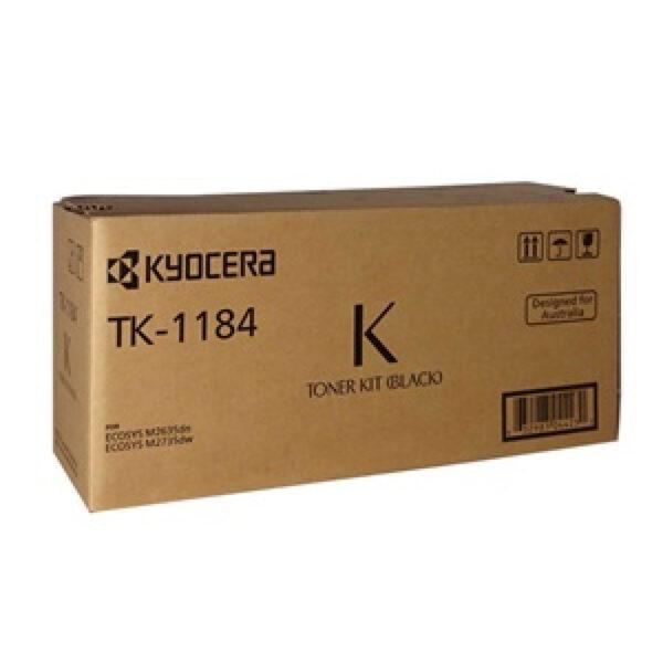 KYOCERA TK-1184 TONER KIT BLK tk1184
