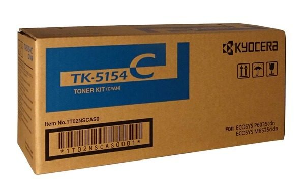KYOCERA TK-5154C TONER CYAN TK 5154C