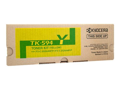 KYOCERA TK-594Y TONER YELLOW TK594Y