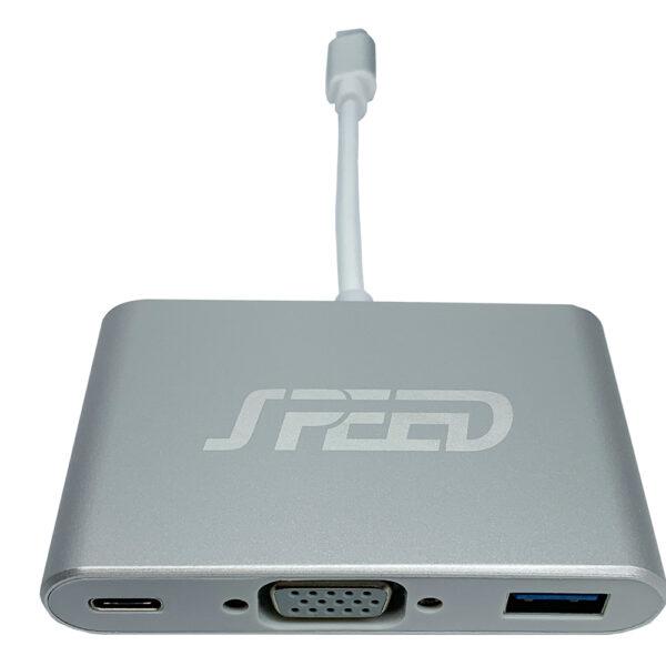 SPEED USB TYPE-C - DSUB/USB/PD ADAPTER usb c dub