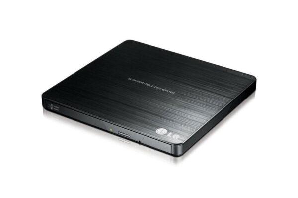 LG External Slim USB DVD Burner Black GP60NB50 1