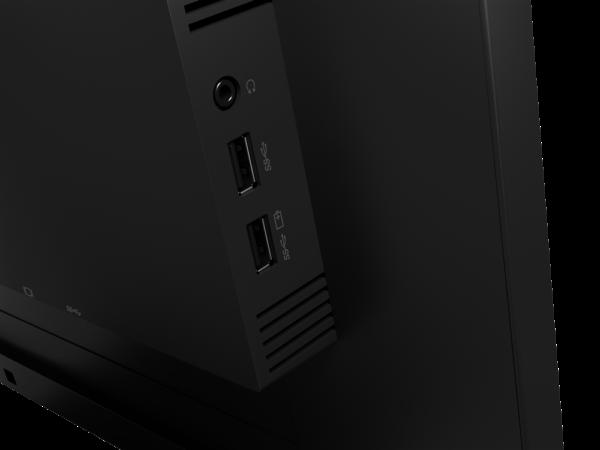 "Lenovo ThinkVision T24v-20 23.8"" FHD VoIP Monitor 61FCMAR6AU 11"