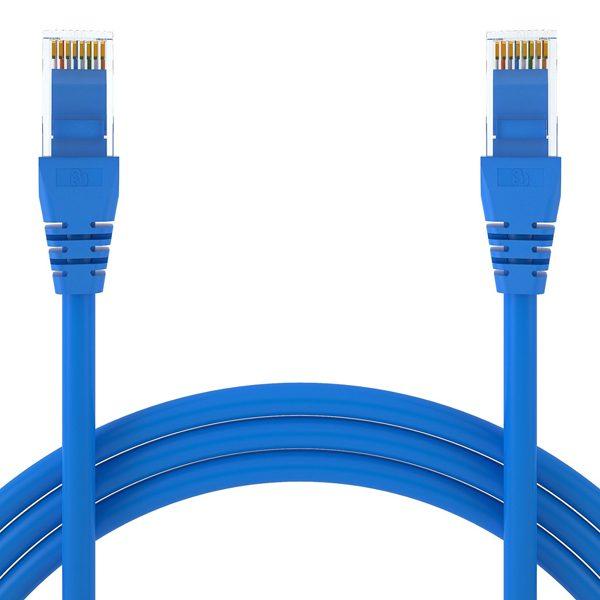 SPEED 0.5M RJ45 CAT6 PATCH CABLE CAB rj45 blue