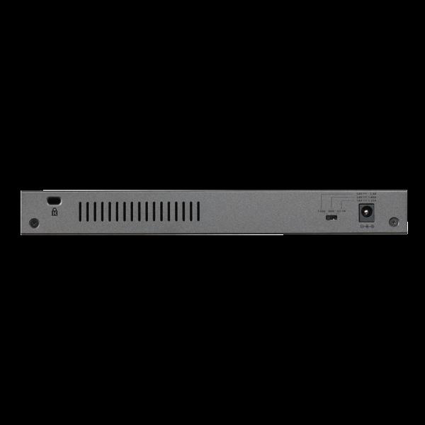 Netgear 8 PORT Gigabit POE+ 123W Switch GS108PP 28Aug17 back