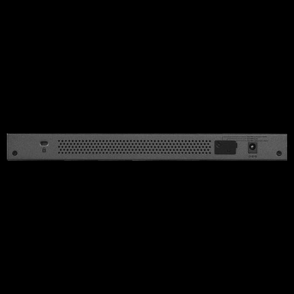 Netgear 16 PORT Gigabit POE+ 76W Switch GS116LP 6Feb18 back
