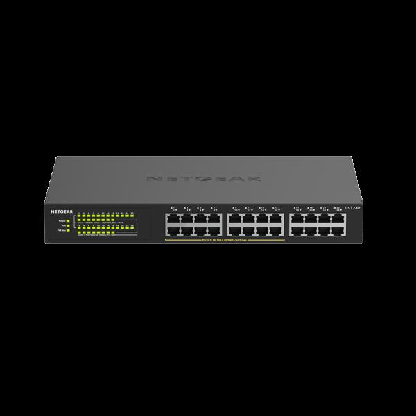 Netgear 24 PORT Gigabit POE+ 190W Switch GS324P woShadow Hero 16Aug19