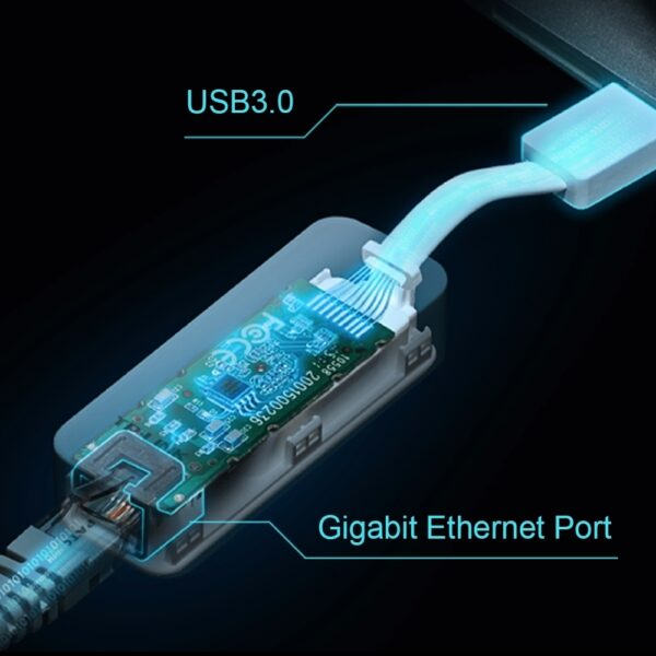 TP-LINK USB3 TO RJ45 ADAPTER UE300 4