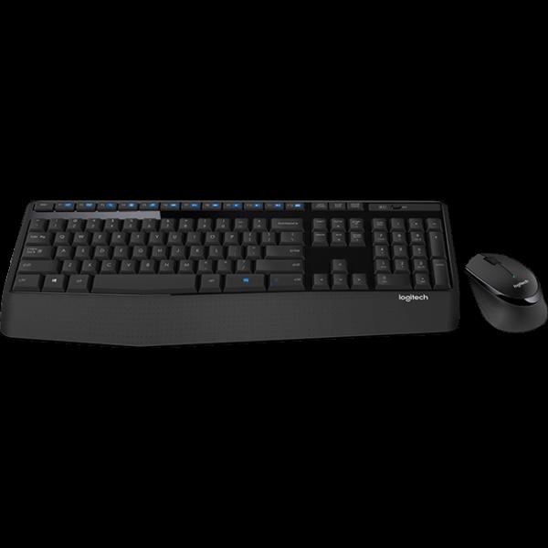 Logitech MK345 Comfort Wireless Keyboard and Mouse Combo MK345 1