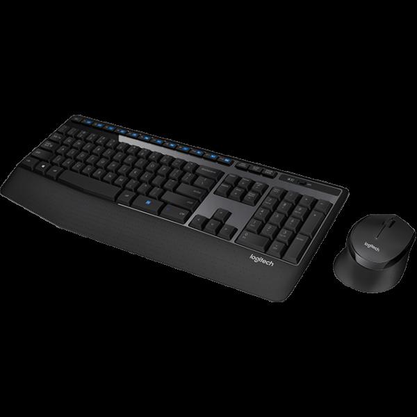 Logitech MK345 Comfort Wireless Keyboard and Mouse Combo MK345 2