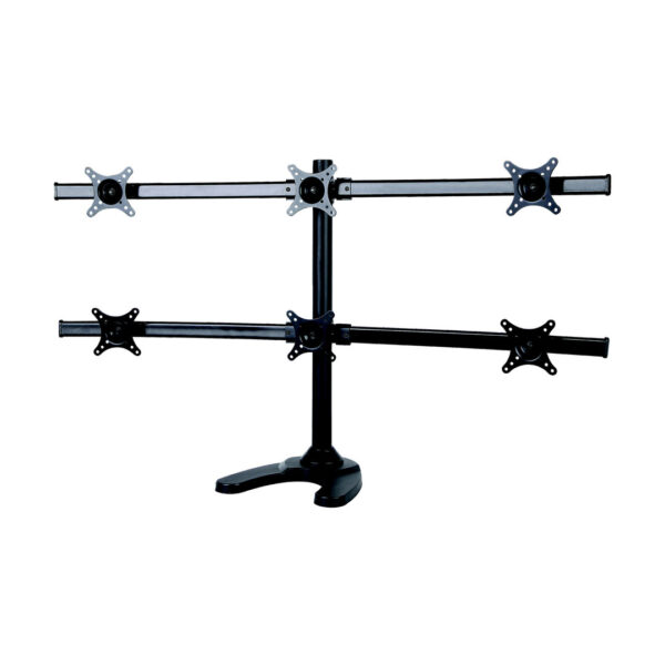 SPEED Curved Six Monitor Desk Stand MNT SPEED CURVEH
