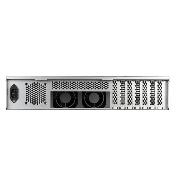 SilverStone RM23-502 2U Server Case rm23 502 back
