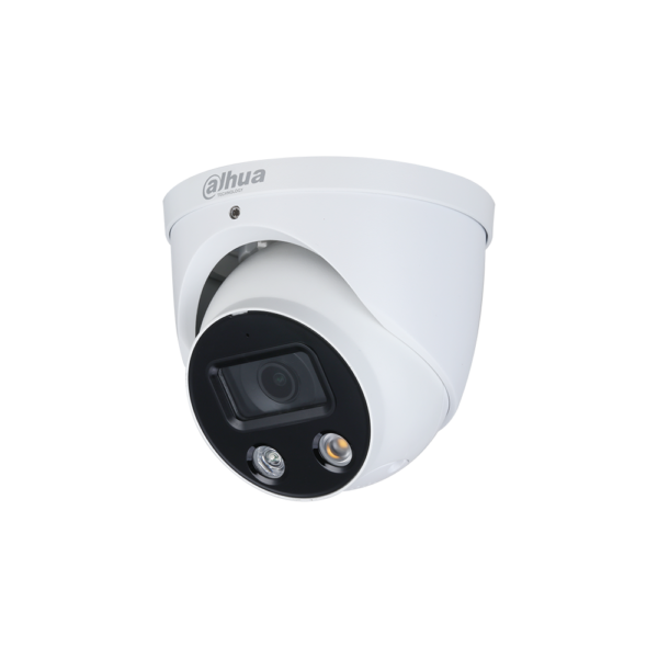 Dahua WizSense Series Eyeball IP AI Camera 8MP 2.8MM Fixed Lens with Active Deterrence IPC HDW3849H AS PV