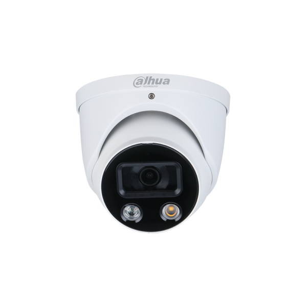 Dahua WizSense Series Eyeball IP AI Camera 8MP 2.8MM Fixed Lens with Active Deterrence IPC HDW3849H AS PV 2