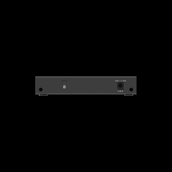 Netgear 8 SOHO Plus PoE+ Gigabit Ethernet Switch 63W GS308EP 100AUS 5