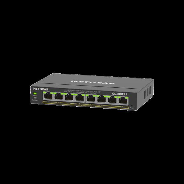 Netgear 8 SOHO Plus PoE+ Gigabit Ethernet Switch 123W GS308EPP 100AUS 3